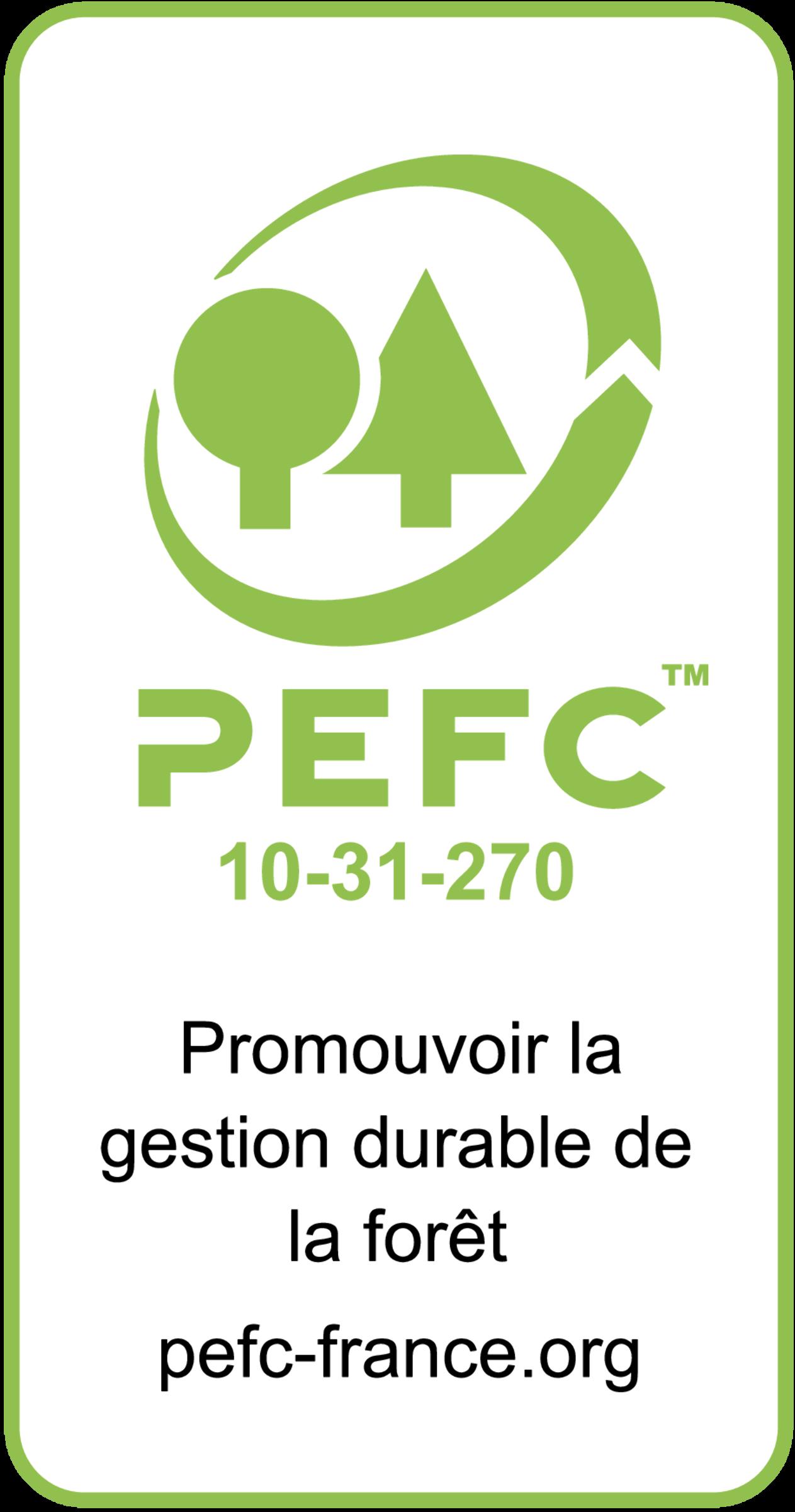 Logo PEFC.